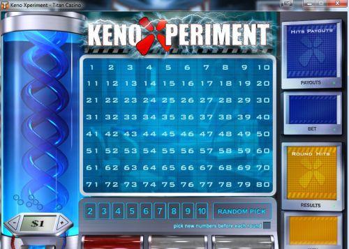 keno-xperiment