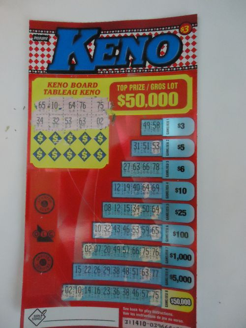 Instant keno scratch tickets : Online casinos for money