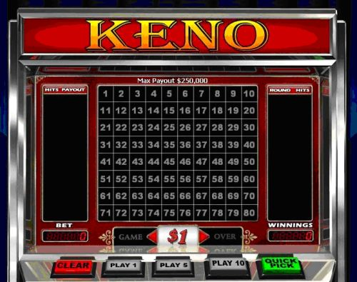Keno board games sale