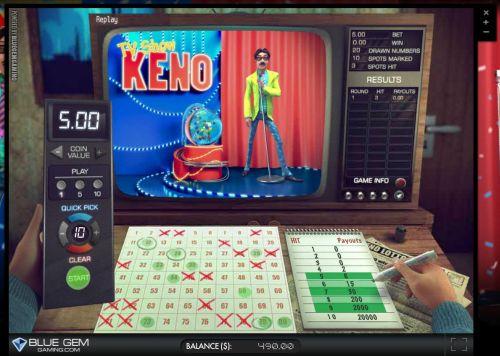keno-tv-show